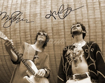 MGMT signed photo print - 12x8 inch - high quality -