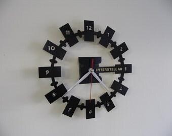 Interstellar Endurance wooden wall clock
