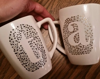 Personalized/Monogram  Mugs *made to order*
