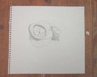 ORIGINAL drawing - ARTIST GOODS - Anna Bart