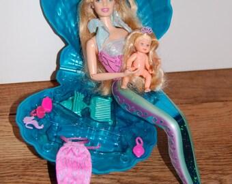 barbie and krissy mermaid