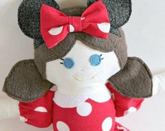 Custom- MINNIE MOUSE Doll