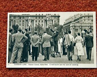London Life by Charles Skilton - Speaker's Corner