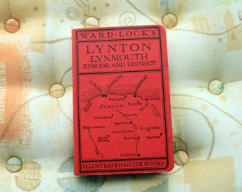 Ward Lock's Illustrated Guide Books - Lynton, Lynmouth, Exmoor and District