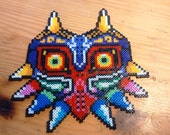 Majora's Mask Zelda Pixel Art beads mini Hama