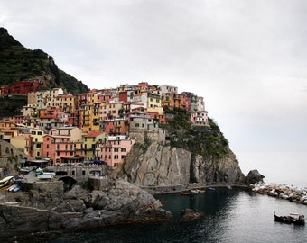 Cinque Terre, Italy, 8x10 in 11x14 Matte