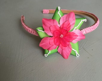 Tropical Flower Headband