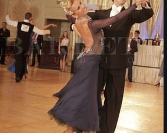 Ballroom Smooth Dress (Designer/Swarovski )