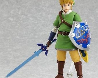 Skyward Sword Figma Legend Of Zelda Action Figure Free Shipping