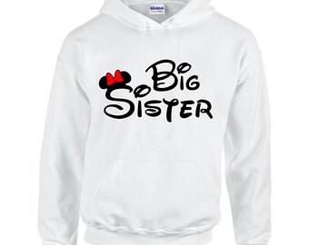 Minnie Big Sister Women's Fashion Hoodie