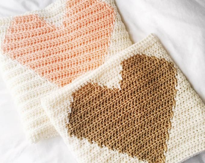 The Heart - Heart Blanket- Heart baby blanket