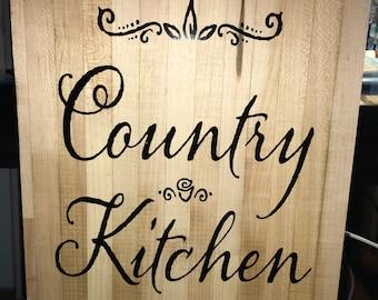 Country Cuttingboard