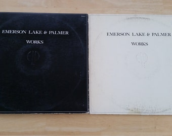 Emerson, Lake & Palmer - Works Volume 1 and Volume 2 - SD2-7000 / SD 19147 -  1977 (both releases)