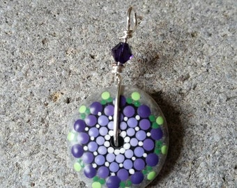 Mandala stone beads