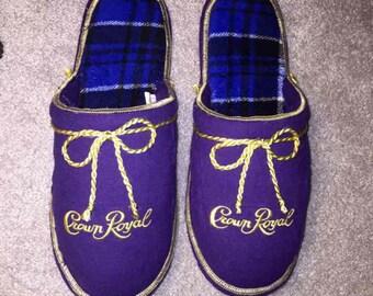 Crown Royal Slippers