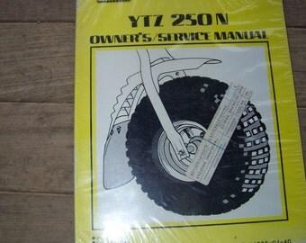 Vintage Yamaha Three Wheeler Service Manual YTZ 250 N