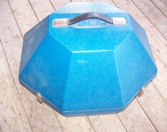 Vintage  Cowboy Hat Carrying Case Suitcase