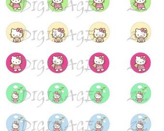 Hello Kitty  Bottle Cap Images