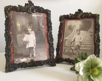 Old photo frames.
