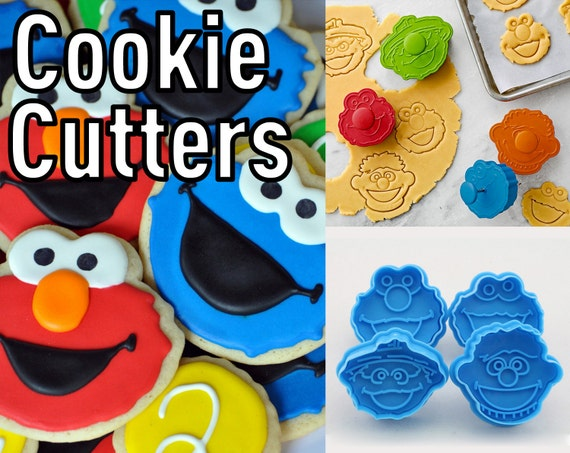 Denise crosby as well Sesame Street Cookie Cutters 4pc Set further Webbs Classic Show Mega Dump also Play Doh Sesame Street in addition 2016 Halloween Picks. on oscar cookie cutters to buy