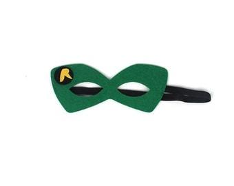 Robin Mask, Felt Superhero Mask, Kids Superhero Mask, Robin Masks