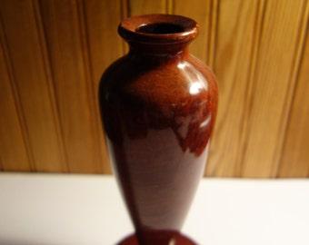 "Redwood burl vase 8"""