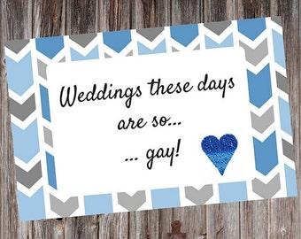 Gay Wedding Card, Gay Wedding, Gay Congratulations, Gay Marriage, Male Female Gay Marriage, Gay Marriage Card, Gay Congratulations