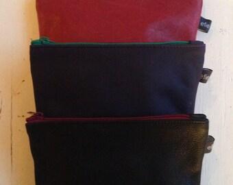 Learn makeup bag/pouch, handmade