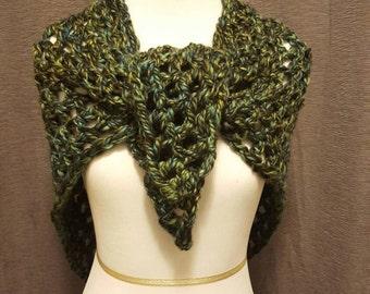 Women's Open Weave Shawl