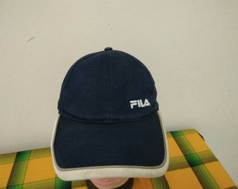 Rare Vintage FILA Sport | Fila Tennis Challenge Court | Fila Running cap hat one size fit all