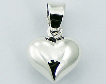 Small Silver 925 chain with heart / jewelry