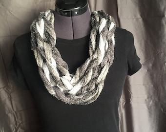 Infinity multicolor scarf