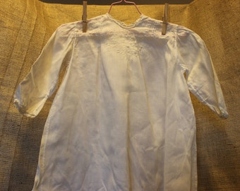 Vintage Baby Dressing Gown