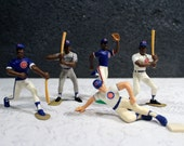 1989-1990 Starting Lineup Chicago Cubs Baseball Figures / Cake Topper