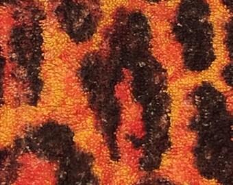 Fresco Towels - Leopard Sunset - Washcloth