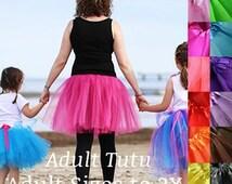 Adult tutu, fun run tutu, color run tutu, women tutu, tutu party favors