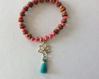 Yoga Lotus bracelet