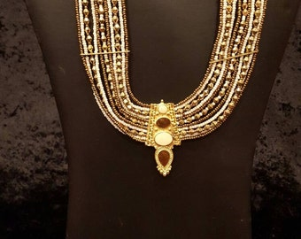Gold Egyptian Style Necklace