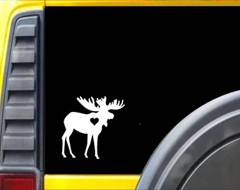 Moose Decal Sticker *J465*