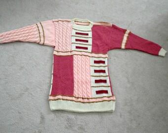 Elegant Pink Variation Sweater