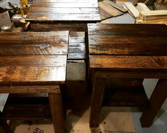 Two end tables for a deal.
