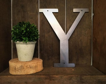 "Metal Letter - ""Y"""