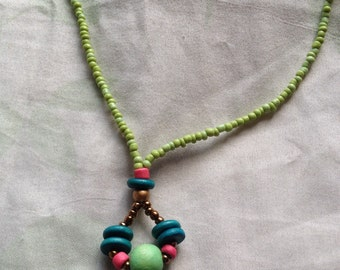 Boho Jewelry in Fairyful Long Strands Necklace