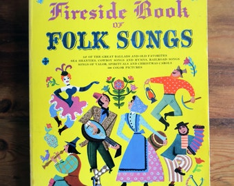 Fireside Book of Folk Songs (16th Print Edition)