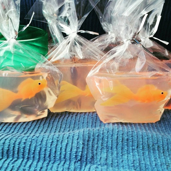 Fish in a bag soap order of 12 for Fish in a bag soap