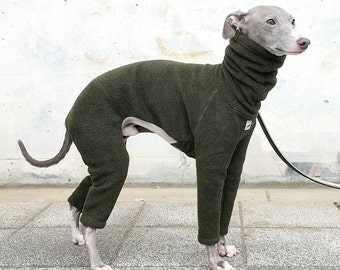 Jammies for Italian Greyhound [Dark Green]
