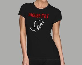 Mouse Rat T-Shirt | Parks and Recreation Leslie Knope Ron Swanson Bert Macklin FBI Parks n Rec Pawnee Indiana TV Show Tshirt Tee uk usa gift
