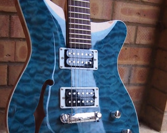 Cipher PR-1 Electric Guitar Quilted Maple Top  - 1 Piece Mahogany Body  Custom