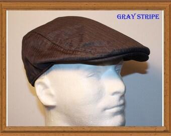 Cotton canvas Men Ivy Cap Gatsby Nesboy Trucker Golf Flat