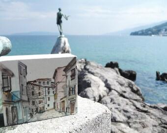 Urban illustration of Istria (Bale)